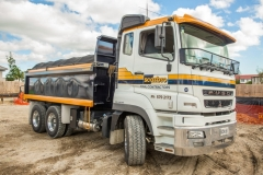 Scarbro Civil Contractors Truck